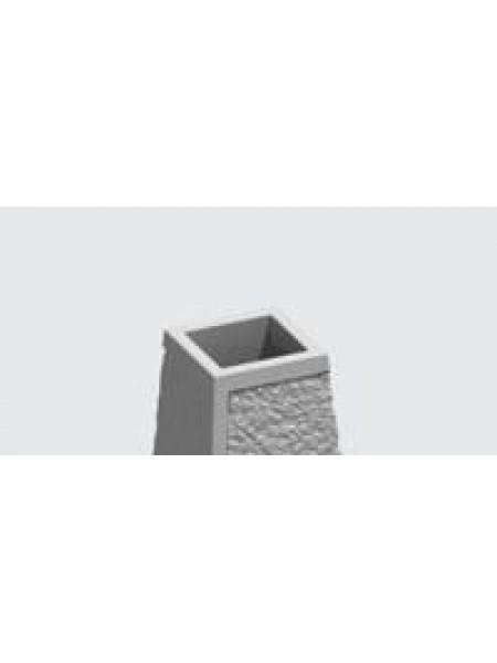 Урна бетонная У-4ф с ведром.