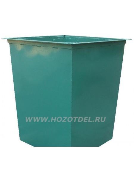 Контейнер для мусора метталический 0,75 м/куб..