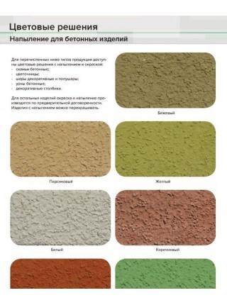Цветочница бетонная (вазон) ЦД-1 (Без дна).