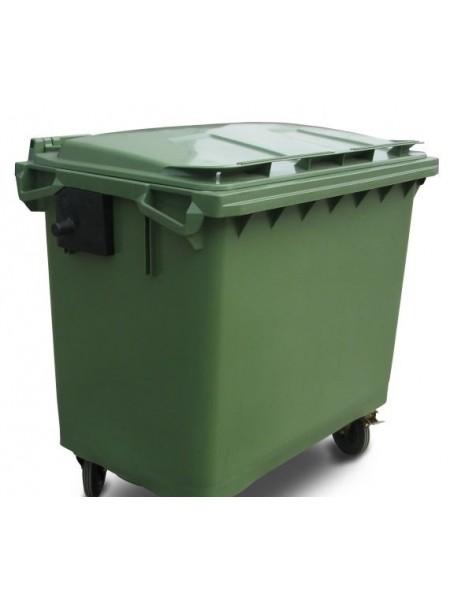 Мусорный контейнер на 660 литров.