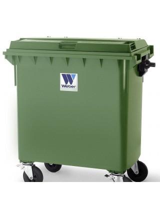 Мусорный контейнер на 770 литров.
