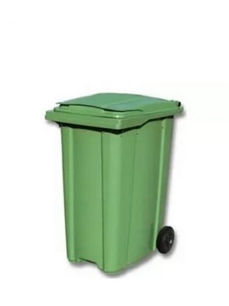 Контейнер для мусора пластиковый 360 литров.