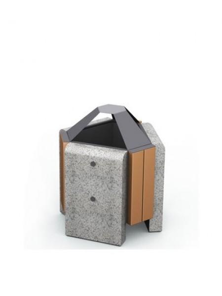 Урна для мусора уличная гранитная (U2).