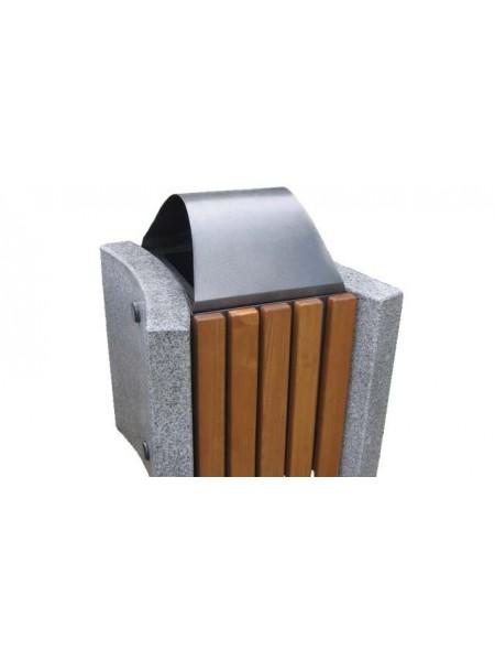 Урна для мусора уличная гранитная (U8).