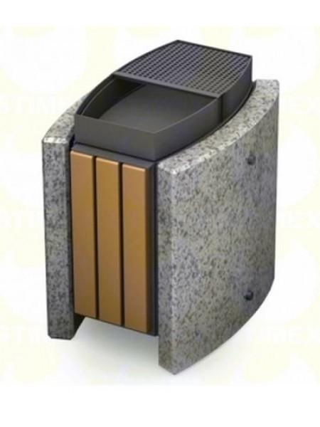 Урна для мусора уличная гранитная (U9B).