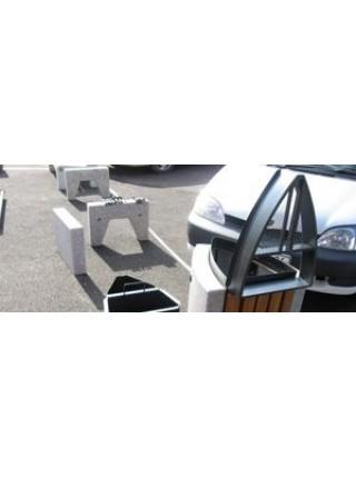 Урна для мусора уличная гранитная (U10B).