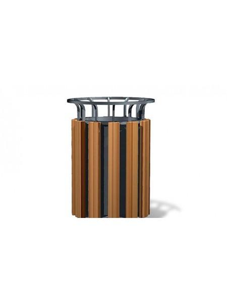 Урна для мусора уличная гранитная (U11).