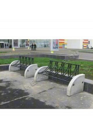 Велопарковка V1 гранитная.