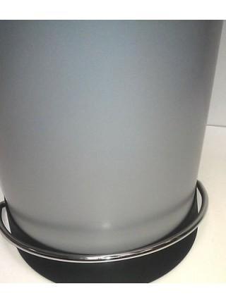 Мусорный контейнер 26 литров, серебро HAILO (0523-519).