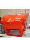 Ящик для песка, соли, реагентов противогололедных 0,25 м3 - 250 литров (с дозатором).