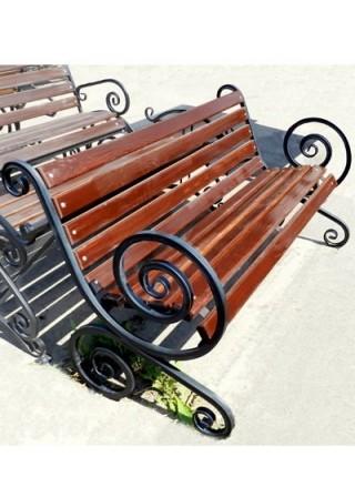 Скамейка Французская лоза большой вензель.