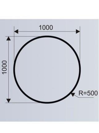 Цветочница круглая для ТРЦ из стеклокомпозита (модульная система МОДУС 3.5).