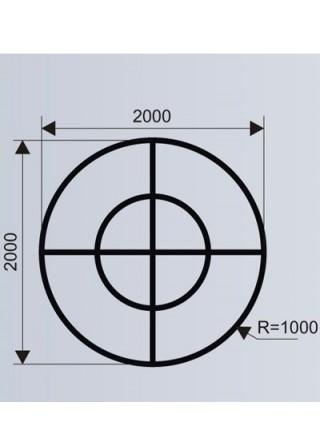 Цветочница и скамья для ТРЦ (модульная система МОДУС 7.3).