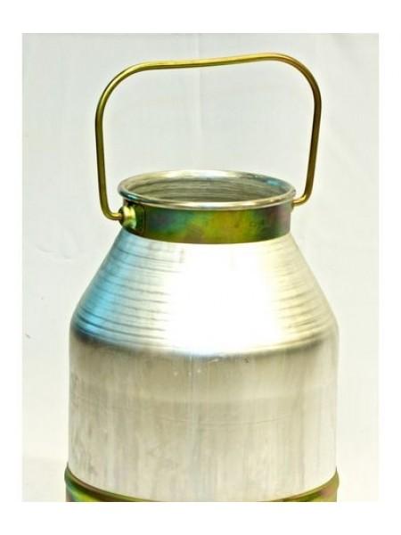 Ведро доильное алюминиевое без крышки 18 литров.