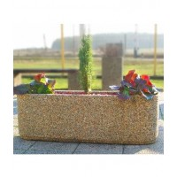 Цветочница бетонная для растений Сицилия.