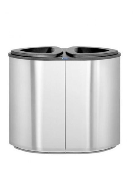 Урна для раздельного сбора мусора FinBin BERMUDA Double.