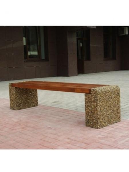 Скамейка бетонная Евро-1.