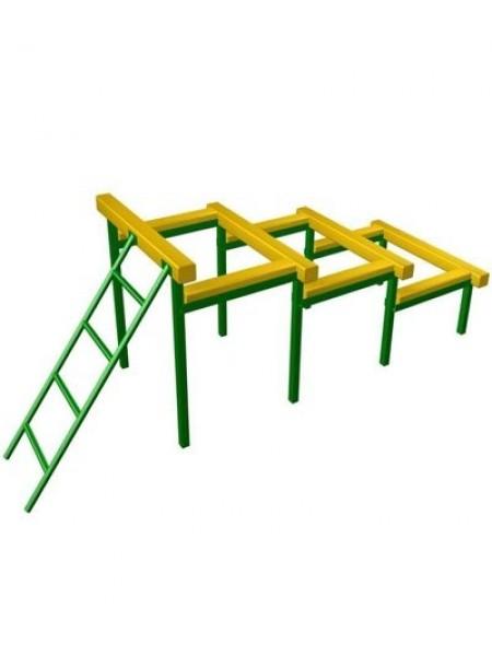 Элемент полосы препятствий: Препятствие Разрушенная лестница.