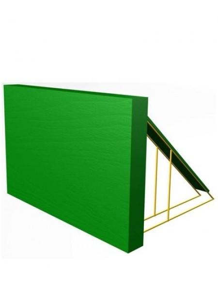 Элемент полосы препятствий: Препятствие Забор с наклонной доской.