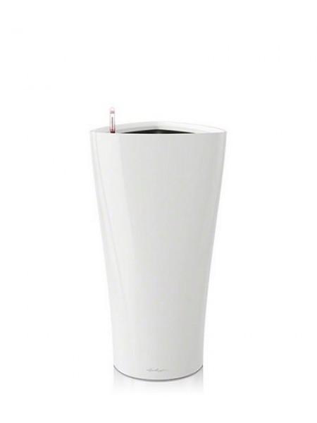 Кашпо DELTA 40, белое,с системой полива (15540).