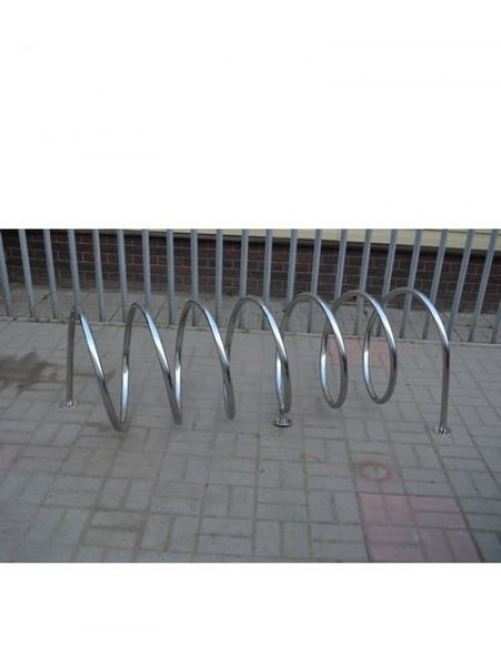 Велопарковка металлическая Спираль.