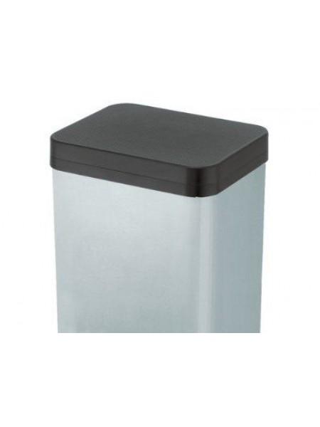 Урна педальная для раздельного мусора Hailo Trento Oko 2 x 9 Хром (0622).