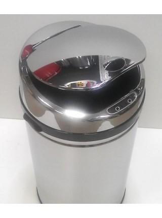 Сенсорная урна, объем 42 литров, полированная, с внутренним ведром..