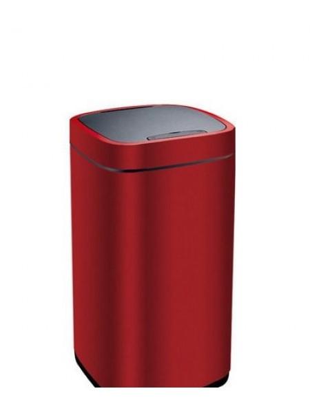 Сенсорное мусорное ведро EKO, темно-красный металлик, 28 литров (EK9288P-28L-MCRD).