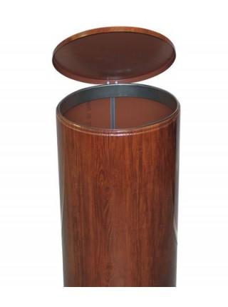 Урна для мусора педальная 40 литров, Вишня.