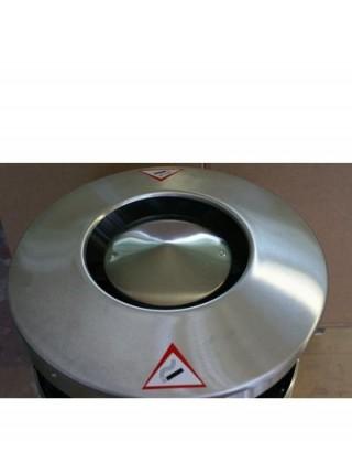 Урна цилиндрическая 70 литров Балтика (нержавеющая сталь).