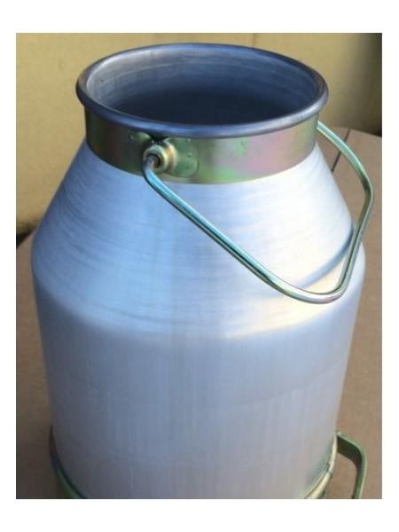 Ведро доильное алюминиевое без крышки 22 литров.