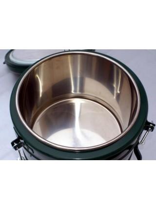 Термос армейский пищевой, 24 литра. Нержавеющая сталь..