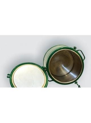 Пищевой термос 6 л (армейский) алюминиевая колба.
