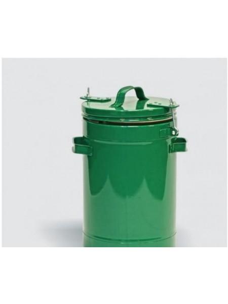 Термос армейский пищевой 12 литров, алюминиевая колба.