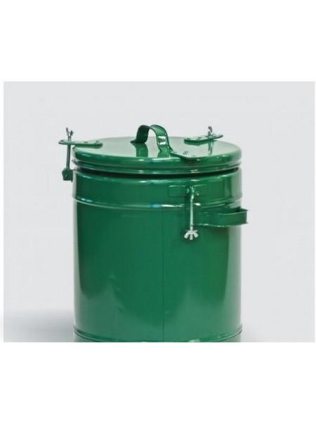 Термос армейский пищевой 24 литра, алюминиевая колба.