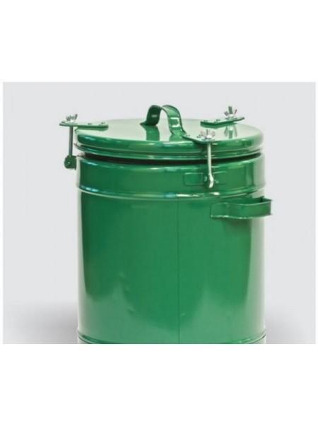 Термос пищевой армейский 36 литров, алюминиевая колба.