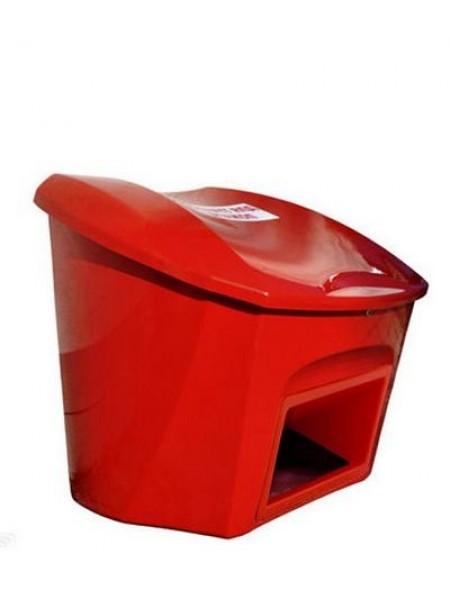 Ящик для песка, соли, реагентов противогололедных 0,5 м3 (500 литров) (с дозатором).