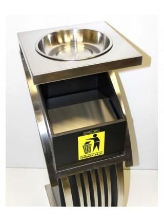 Урна-пепельница Джангл-2 металлическая чашка.
