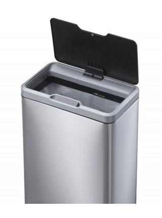 Умное ведро для мусора EKO премиум класса 68 литров, нержавейка.
