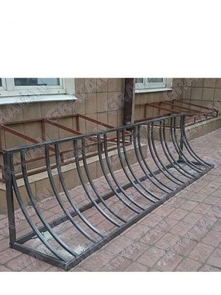 Велосипедная парковка Рио.