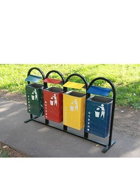Урна для раздельного сбора мусора Мадагаскар.