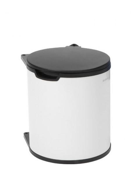 Встраиваемый мусорный бак Brabantia (15 л), Белый (428081).
