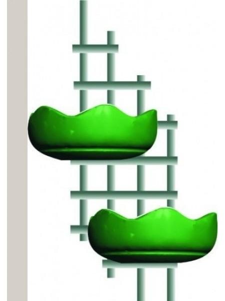 Цветочница ШПАЛЕРА,термо-полуЧаша 840мм.