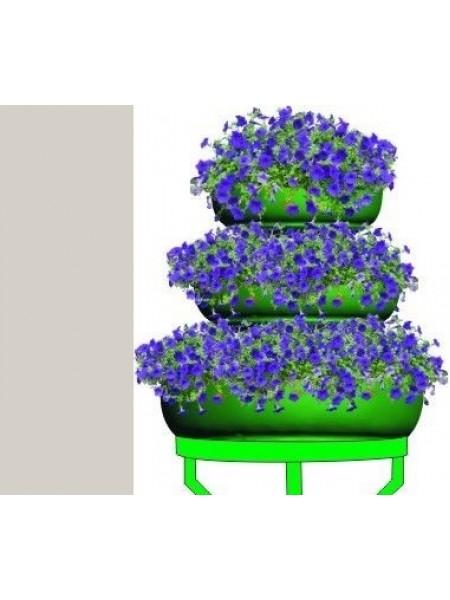 Цветочница ФОНТАН-3,термо-чаши 480 600 840мм.