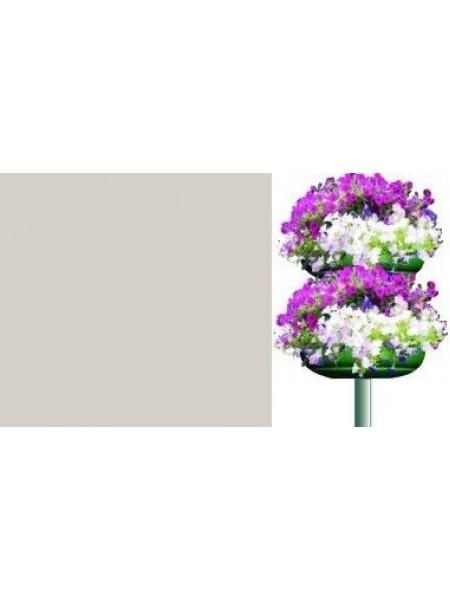 Цветочница КОЛОННА 2, 2 яруса, термо-полуЧаша 840мм.