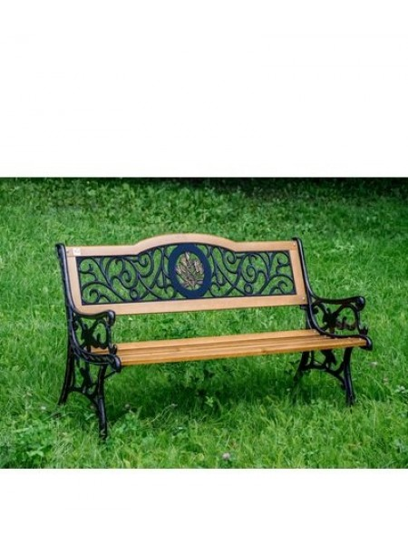 Скамейка чугунная Лилия.