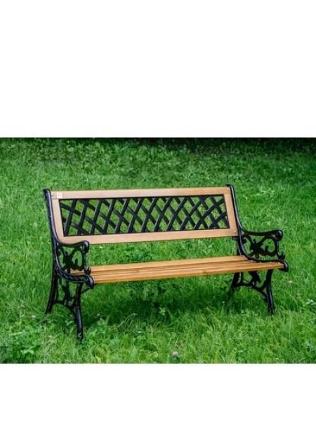 Скамейка садовая чугунная Жардин.