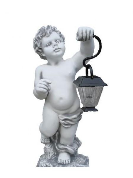 Скульптура Мальчик с фонариком (1.04).