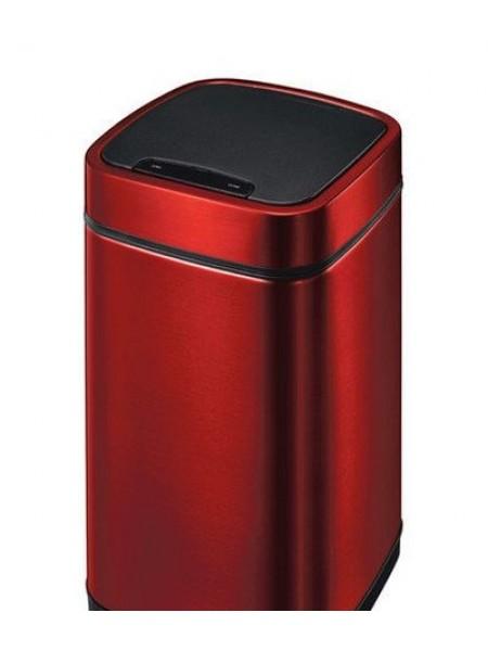 Сенсорное мусорное ведро EKO, тёмно-красный металлик, премиум-класс, 21 литр (EK9288P-21L-MCRD).