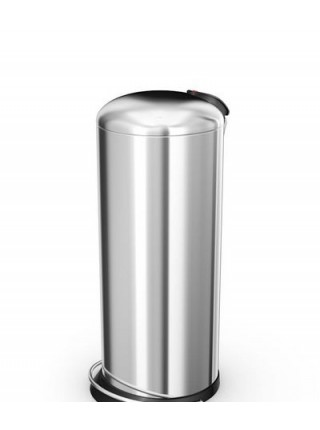 Урна с педалью Hailo Trento TOPdesign 26 литров, хром (0523-019).